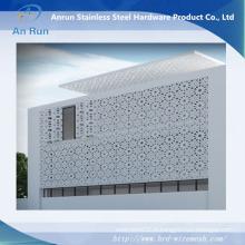 Intérieur imperméable à l'eau Intérieur Mur en rideau en aluminium fait de feuille perforée