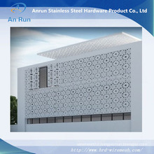 Fireproof Waterproof Interior Aluminum Curtain Wall Made of Perforated Sheet