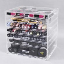 Günstiger Make-up-Organizer aus Acryl mit 7 Schubladen
