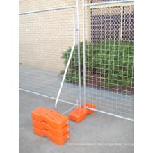 Hochwertiger temporärer Zaun aus verzinktem Metall mit Sonnenscheinbeständigkeit (YB-7)