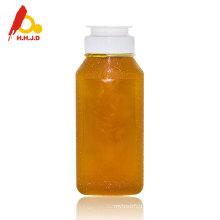 Raw unprocessed polyflower bee honey