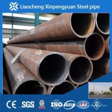 Preço de tubo de aço de carbono preto por metro / tonelada na manufatura de porcelana