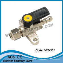 Mini Gas Ball Valve Foot Mounted (V25-301)