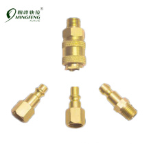 Quality-assured Superior brass quick connect air fittings