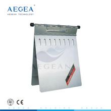 AG-MRH001 stainless steel hospital medical record folder