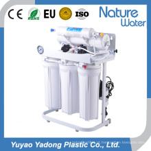 Sistema de osmose reversa de 5 fases com prateleira de ferro