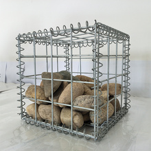 Galvanized Galfan Welded Gabion Basket Stones