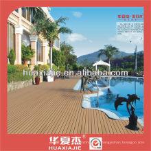 Anticorrosive plastic wood floor