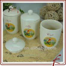 Pot de stockage en céramique