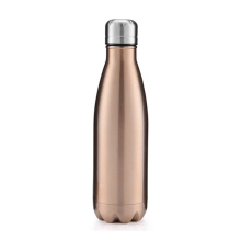 Hot Cool Rose Gold Thermos Vacuum Flask Water Bottle