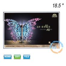 18,5 pouces LCD TFT moniteur couleur 12v alimentation avec cadre ouvert sans cadre