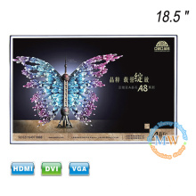 Новые бескаркасные открытой рамки 18.5-дюймовый ЖК-монитор с HDMI вход VGA и DVI