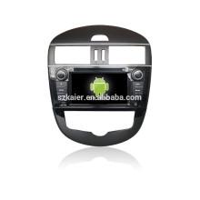 ¡CALIENTE! DVD del coche con enlace espejo / DVR / TPMS / OBD2 para pantalla táctil completa de 7 pulgadas 4.4 Sistema Android TIDDA