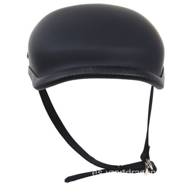 Extremely Light Vintage Half Face Weight Motorbike Helmet