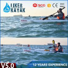 5.0m Professional uma pessoa sentar-se em Ocean Pioneer Kayak Plastic Boat