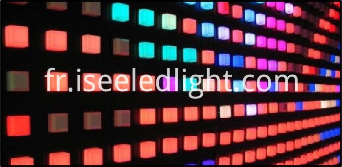 RGB LED Pixel DMX Addressable