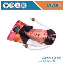 Durable bolsa de microfibra blanca para gafas