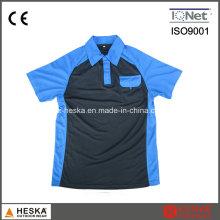 Personalizado Mens manga curta gola camisa Polo de pescoço