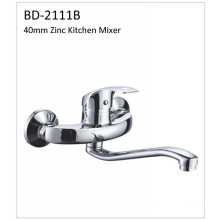 Bd2111b Faucet de cozinha de parede de zinco de 40mm