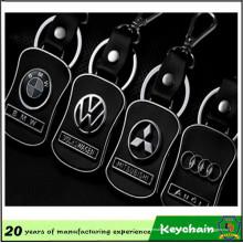Metal Leather Car Logo Keychain en venta en es.dhgate.com