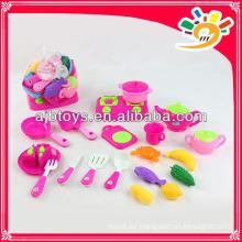 Kinder kochen Spielzeug helle Farbe Küche Spiel-Set