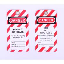 Étiquettes de verrouillage Produits de sécurité