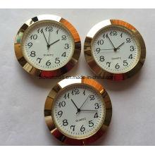 Inserções promocionais de relógios de metais com quartzo analógico com logotipo personalizado