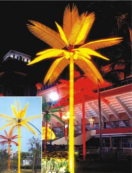 LED Coconuts Tree Lights Yellow Color