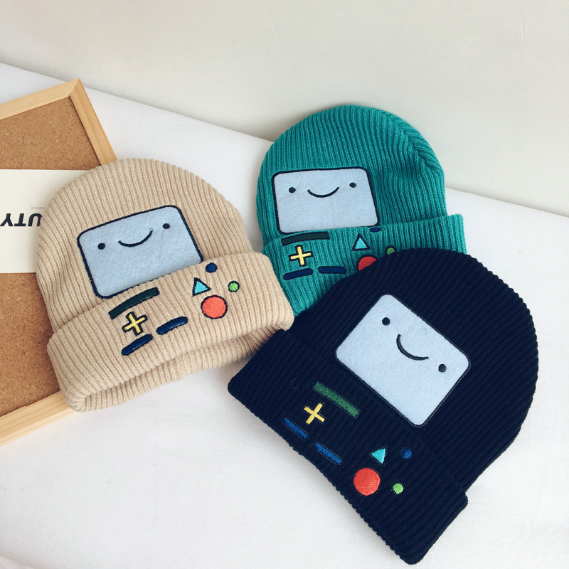 Casual Cartoon Embroidery Hat