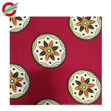 Wholesale tissé d'impression de cire super africain de polyester pur