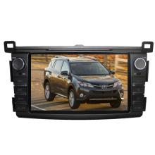 2DIN автомобильный DVD-плеер, пригодный для Toyota RAV4 2013 2014 2015 с радио Bluetooth стерео TV GPS навигационной системы