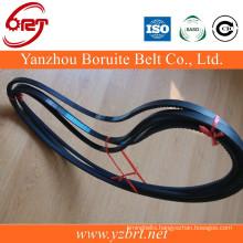 Highly cogged v belt V10x1195 belt for cars rubber belts China