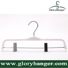 White Plywood Hanger for Clothing Shop Display