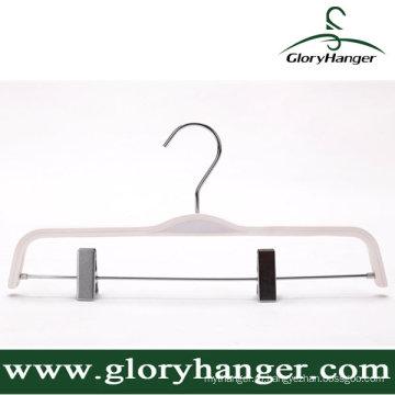 Вешалка белая Фанера для одежды магазин Дисплей