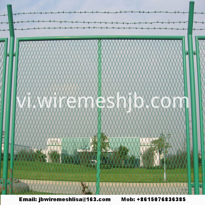 Powder Coated And Galvanized Expanded Metal Mesh