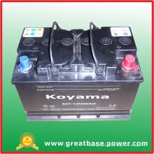 657-12V66AH bateria seca para a África do Sul