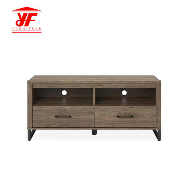 metal base TV stand