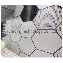Customized Size Interior and External Aluminum Fireproof Waterproof Decorative Building Materials 3D Wall Panels
