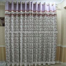 Tissu de rideau brodé turquie