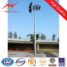 Cabrestante del palo del mástil del alto palo de los 30m alto con las luces LED de 15 * 2000W