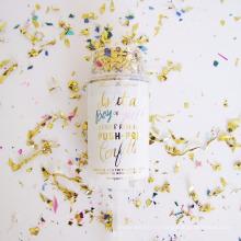 Usine noce Popper Mini Confetti Push Pop Conteneurs à vendre