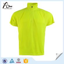Hochwertiges Athletic Wear Stand Collar Polo T-Shirt