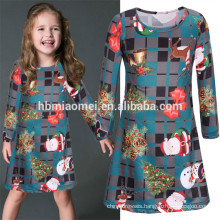 Factory Price Modern Girls Green Dresses Baby Girl Party Dress 3-5 Year Old Girl Dress For Christmas