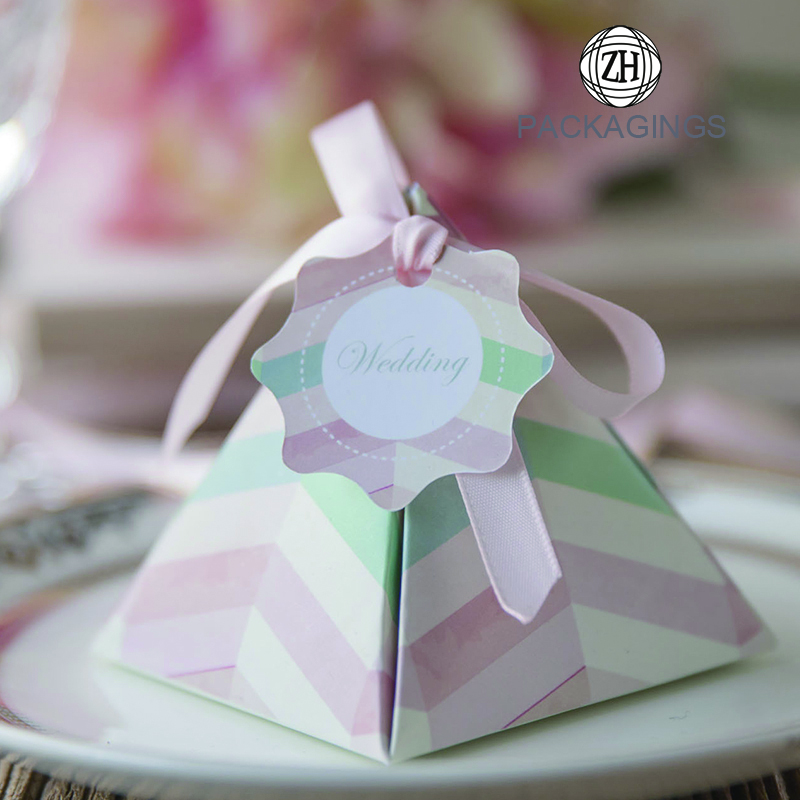 Sweet paper candy box