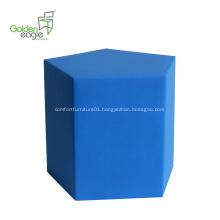 2019 New trends polyurethane furniture Pentagon stool