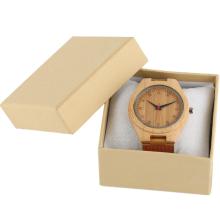 Light Yellow Paper Box Watch Display Case