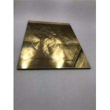 Panneau composite miroir en aluminium doré