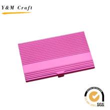 Специальные рекламные металл розовый имя держателя карты с высокое качество