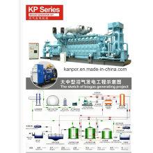Natural Gas Diesel Generator Set, Biogas Generating Set, From 24kw-2400kw Powered by Cummins / Weichai / Deutz, German Tesla Power Authorized Mfr Kanpor