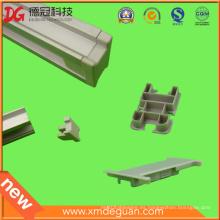 Soporte de aluminio solar personalizado Soporte de plástico tapa de protección